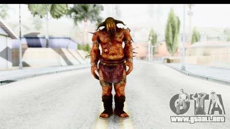 God of War 3 - Hades para GTA San Andreas segunda pantalla