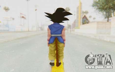 Dragon Ball Xenoverse Goku Kid GT SJ para GTA San Andreas tercera pantalla