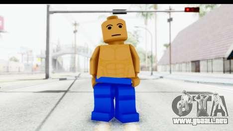 LEGO Carl Johnson para GTA San Andreas segunda pantalla
