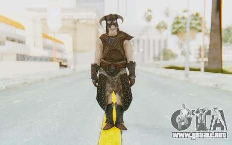 Skyrim - Dovahkiin para GTA San Andreas segunda pantalla