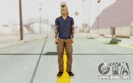 Kurt Cobain para GTA San Andreas segunda pantalla