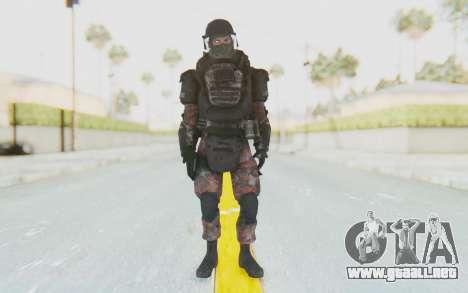 COD MW2 Russian Paratrooper v3 para GTA San Andreas segunda pantalla