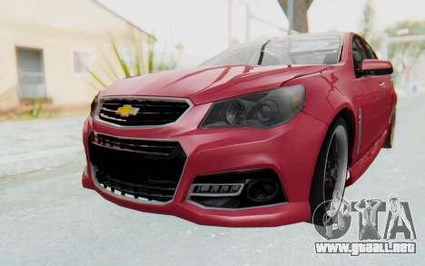 Chevrolet Super Sport 2014 para la visión correcta GTA San Andreas