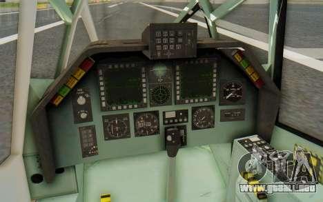 WZ-19 Attack Helicopter Asian para visión interna GTA San Andreas
