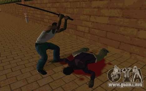 Sword of Blades para GTA San Andreas séptima pantalla