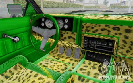 GTA 5 Willard Faction Custom Donk v3 para visión interna GTA San Andreas