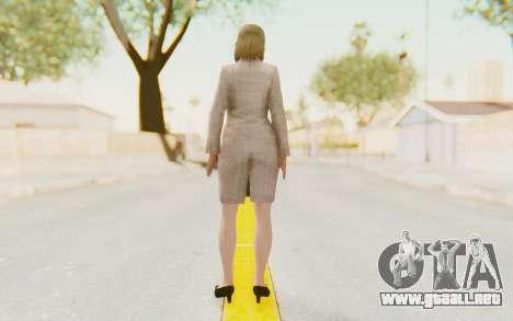 Dead Rising - Jessica McCartney para GTA San Andreas tercera pantalla