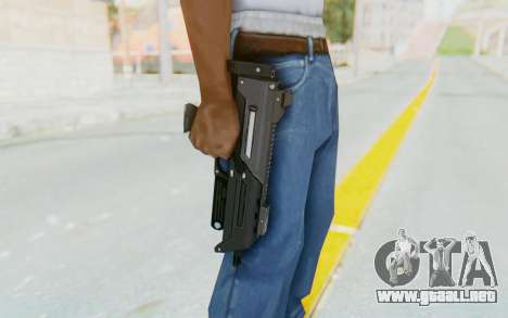 APB Reloaded - S-AS PDW para GTA San Andreas tercera pantalla
