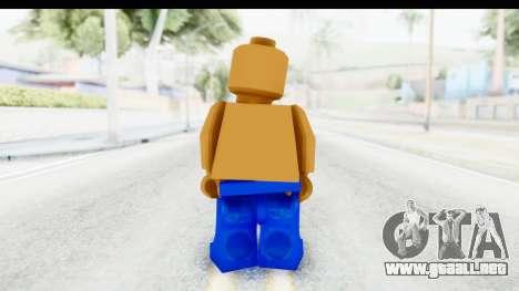 LEGO Carl Johnson para GTA San Andreas tercera pantalla