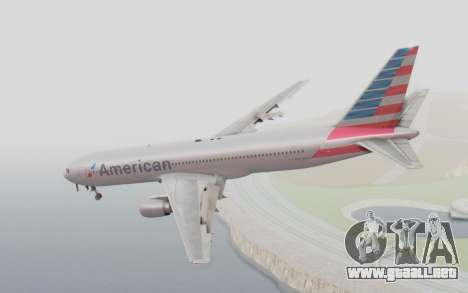 Boeing 767-300ER American Airlines para GTA San Andreas left