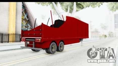 Renault Magnum TopGear Trailer para GTA San Andreas left