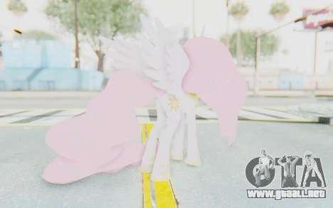 Princess Molestia MLP para GTA San Andreas tercera pantalla