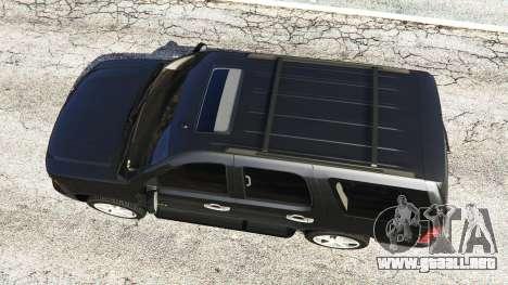 GTA 5 Chevrolet Tahoe vista trasera