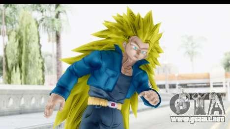 Dragon Ball Xenoverse Future Trunks SSJ3 para GTA San Andreas