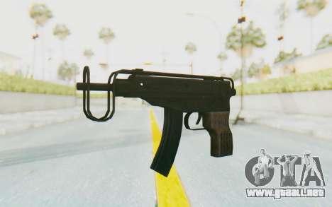 VZ-61 Skorpion Fold Stock para GTA San Andreas