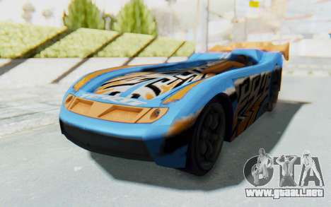 Hot Wheels AcceleRacers 1 para la visión correcta GTA San Andreas