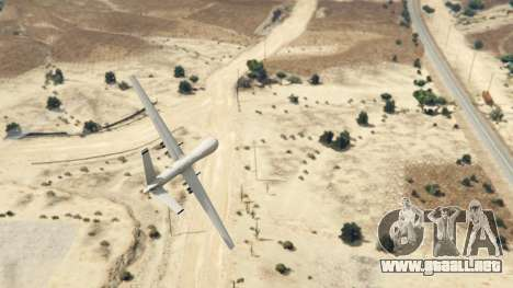 GTA 5 MQ-9 Reaper UAV 1.1 cuarto captura de pantalla