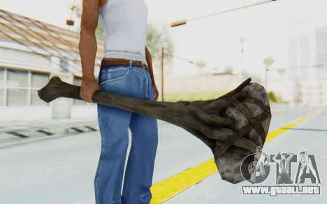 Giant Club from TES Skyrim para GTA San Andreas