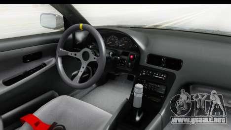 Nissan 240SX 1989 v2 para visión interna GTA San Andreas