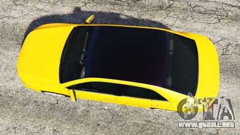 GTA 5 Toyota Camry V50 vista trasera