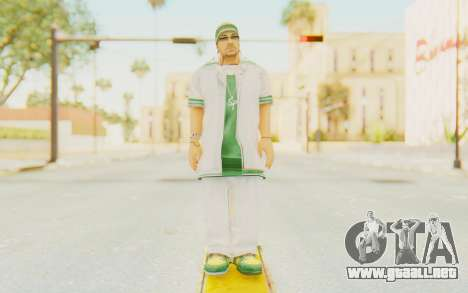 Def Jam Fight For New York - Sean Paul v1 para GTA San Andreas segunda pantalla