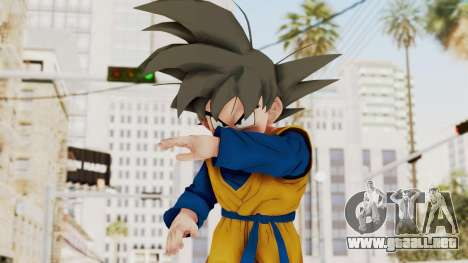 Dragon Ball Xenoverse Goten SJ para GTA San Andreas