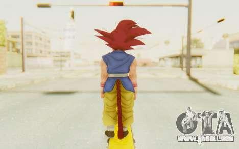 Dragon Ball Xenoverse Goku Kid GT SSG para GTA San Andreas tercera pantalla