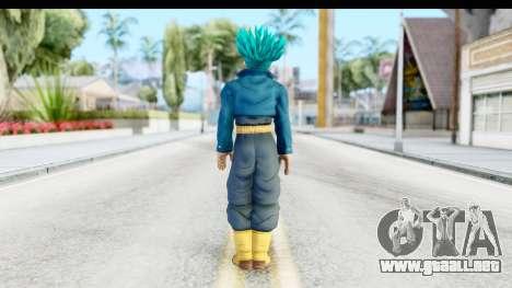 Dragon Ball Xenoverse Future Trunks SSGSS para GTA San Andreas tercera pantalla