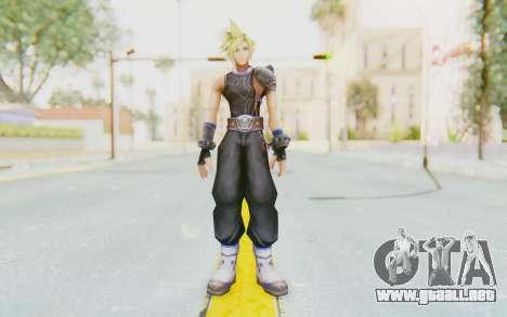 Final Fantasy - Cloud Deus para GTA San Andreas segunda pantalla