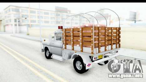 Chevrolet 3100 Diesel v2 para GTA San Andreas left