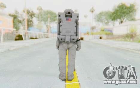 CoD Ghosts USA Spacesuit para GTA San Andreas tercera pantalla