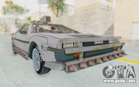 DeLorean DMC-12 2012 End Of The World para GTA San Andreas