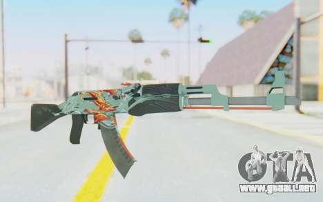 CS:GO - AK-47 Aquamarine Revenge para GTA San Andreas