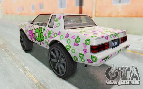 GTA 5 Willard Faction Custom Donk v3 para las ruedas de GTA San Andreas