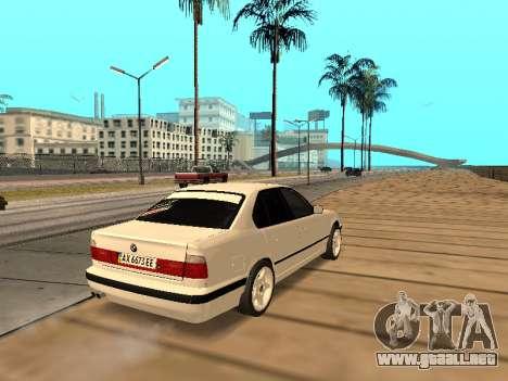 BMW E34 - EK edition para la visión correcta GTA San Andreas