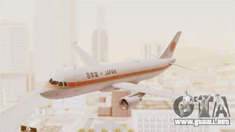 Airbus A320-200 Japanese Air Force One para GTA San Andreas
