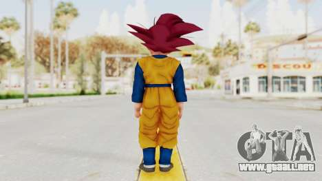 Dragon Ball Xenoverse Goten SSG para GTA San Andreas tercera pantalla