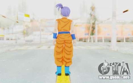Dragon Ball Xenoverse Female Saiyan SJ para GTA San Andreas tercera pantalla