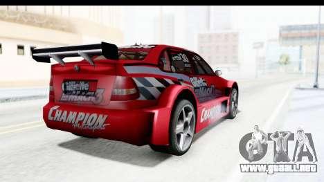 Volkswagen Polo TC2000 Temporada 2005(06) para GTA San Andreas left