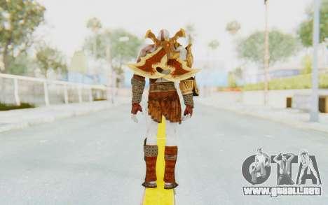 Kratos v2 para GTA San Andreas tercera pantalla