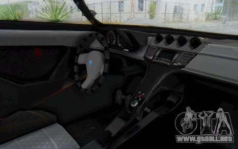 GTA 5 Grotti Prototipo v1 IVF para GTA San Andreas vista hacia atrás