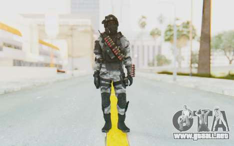 Federation Elite Shotgun Arctic para GTA San Andreas segunda pantalla