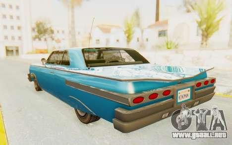 GTA 5 Declasse Voodoo PJ para GTA San Andreas left