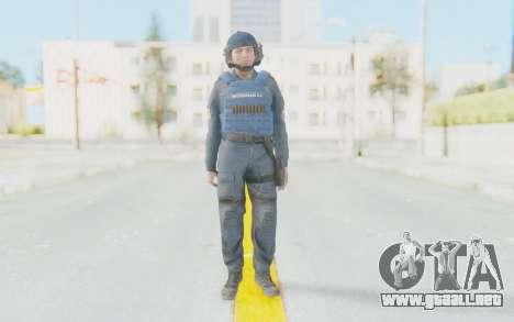 Interventna Jedinica Policije Srbije para GTA San Andreas segunda pantalla