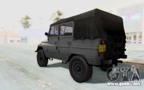 UAZ-460Б para GTA San Andreas left
