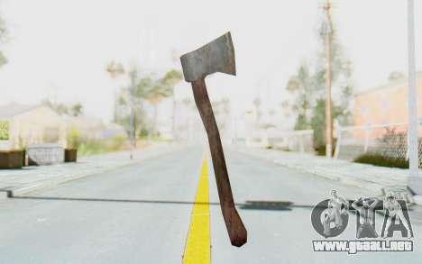 CoD Ghosts DLC Michael Myers Weapon para GTA San Andreas segunda pantalla