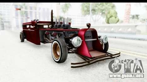 Unique V16 Fordor Ratrod para la visión correcta GTA San Andreas