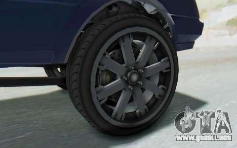 GTA 5 Willard Faction Custom Donk v3 IVF para GTA San Andreas vista hacia atrás