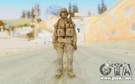 CoD MW2 Ghost Model v4 para GTA San Andreas segunda pantalla