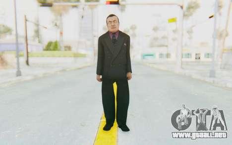 Mafia 2 - Wong para GTA San Andreas segunda pantalla